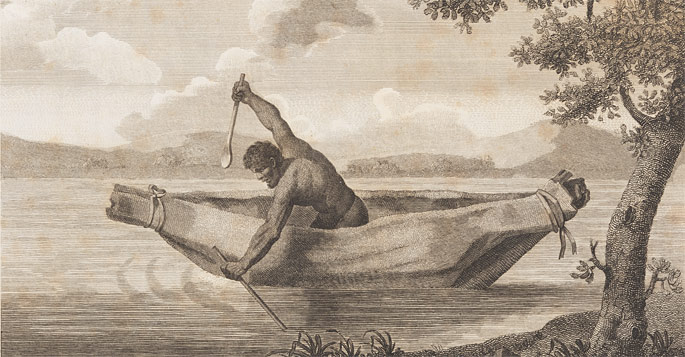 Engraving by Samuel John Neele of James Grant's image of 'Pimbloy' is believed to be the only known depiction of Pemulwuy
