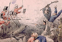 1854: Rebellion of goldminers at the Eureka Stockade, Ballarat, Victoria