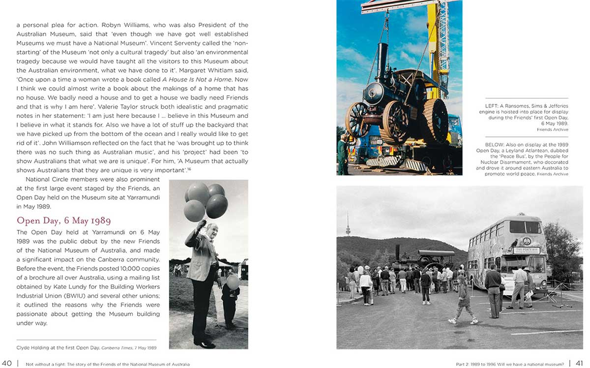 A screenshot of pages 40 to 41. - click to view larger image