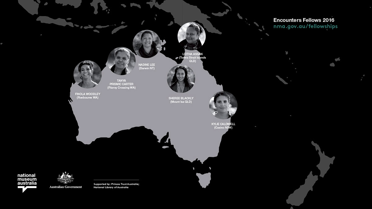 A graphic featuring the map of Australia.