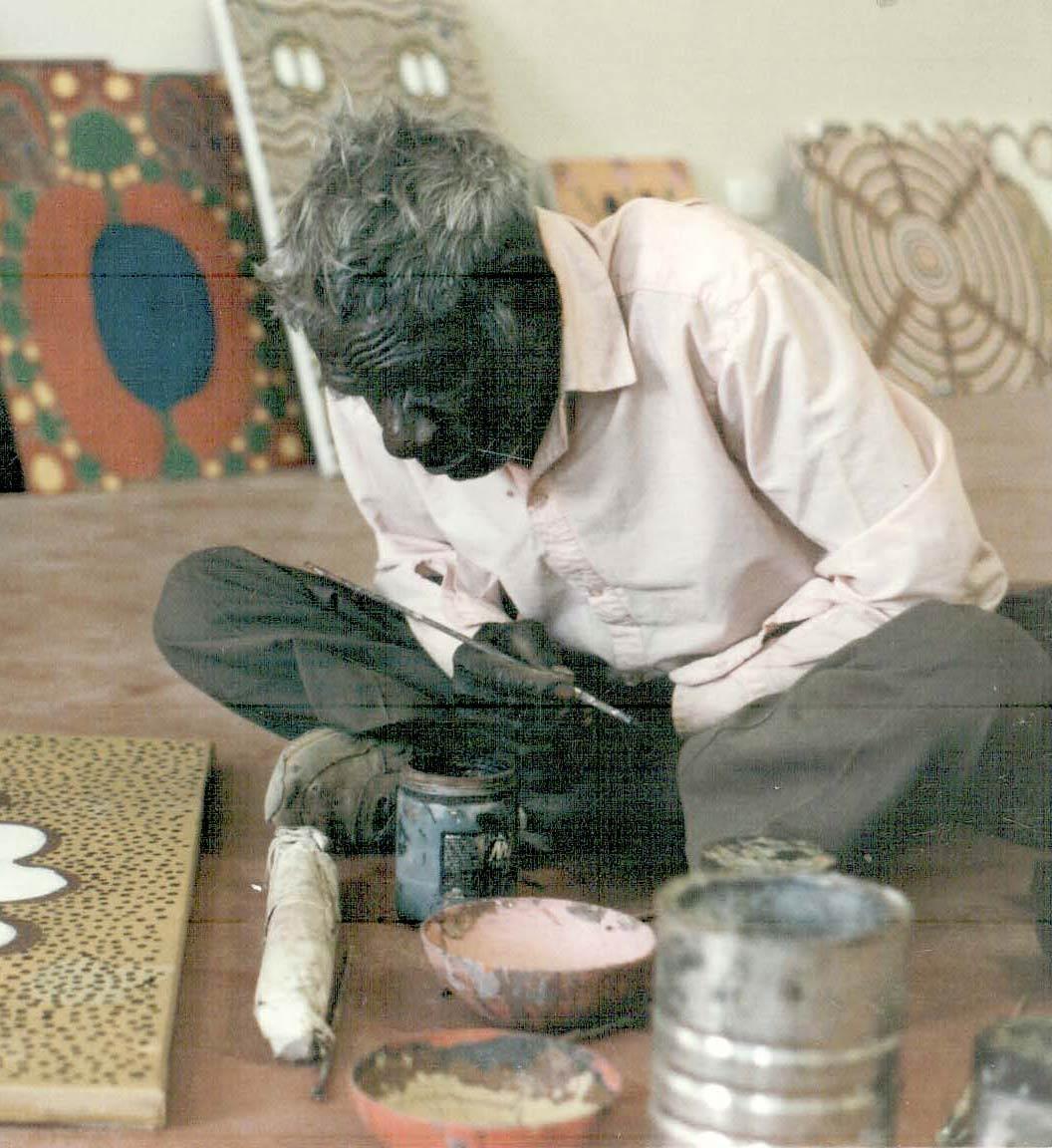 Portrait of Jarinyanu David Downs. - click to view larger image
