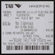 Betting ticket of the day pt paragon perdana mining bitcoins