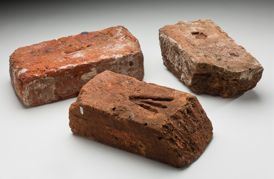 what is frogged brick
